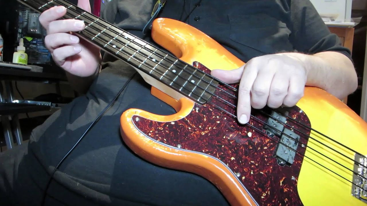 fender nylon wound strings on a p bass reloaded youtube. Black Bedroom Furniture Sets. Home Design Ideas