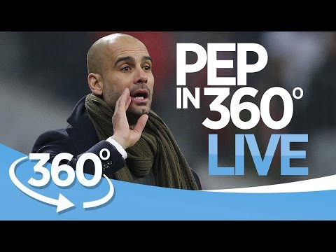 PEP IN 360 LIVE! Guardiola Unveiling as Man City Manager