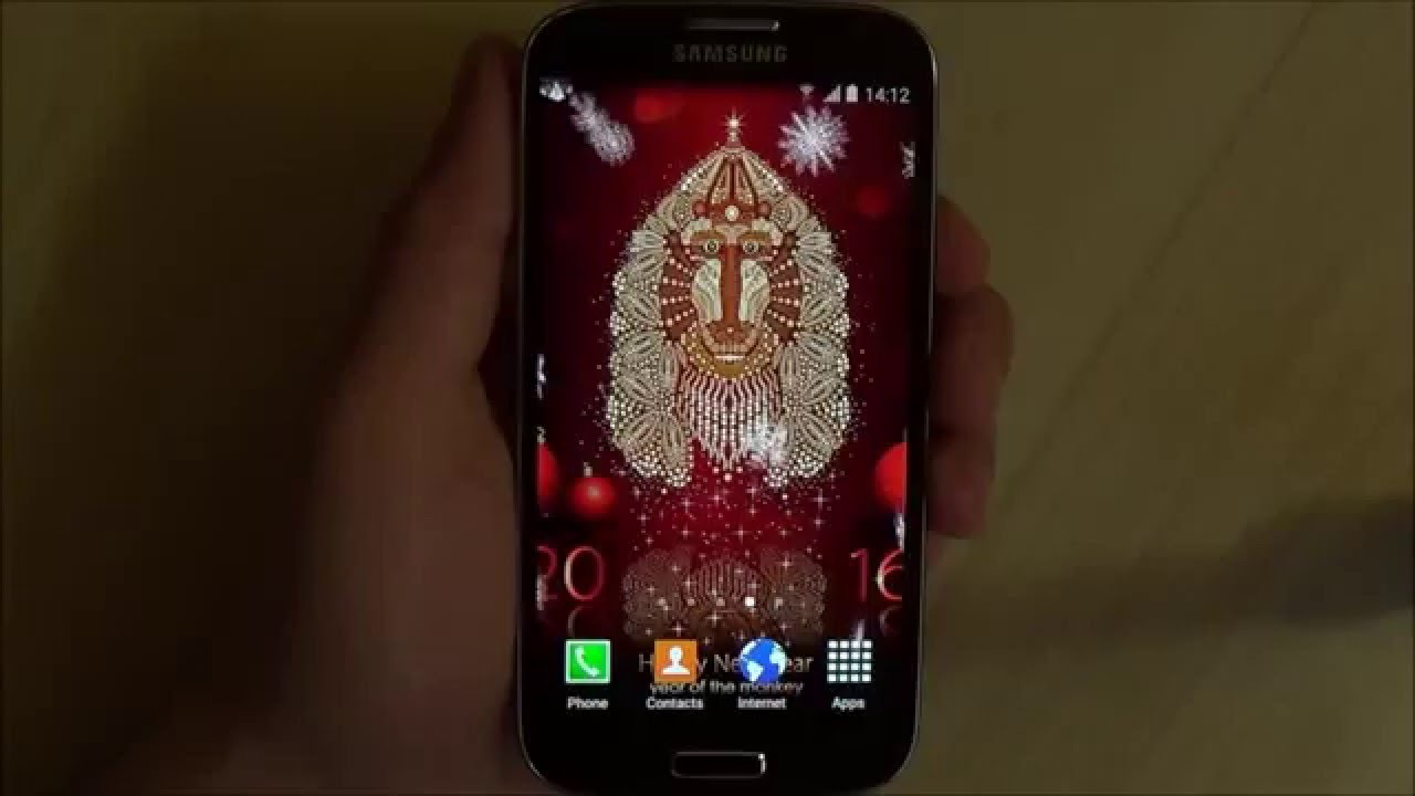 New Year Live Wallpaper for Android phones and tablets