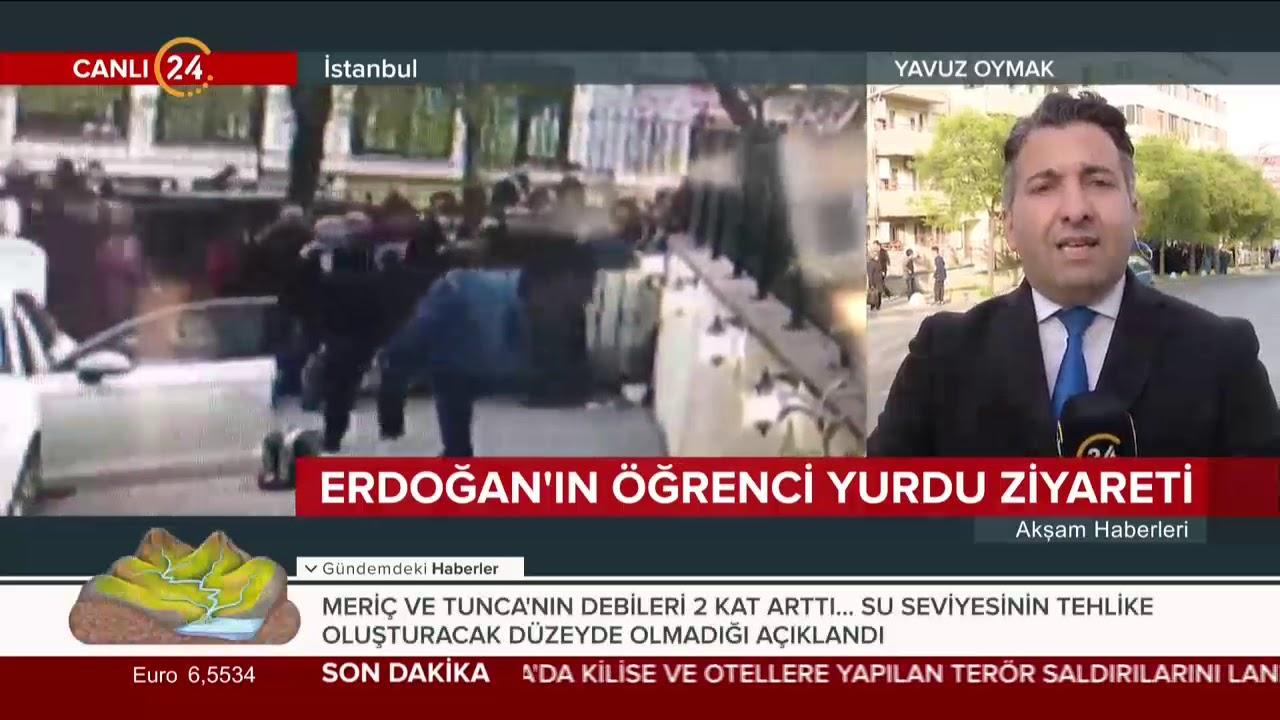 Başkan Erdoğan, İstanbul'da