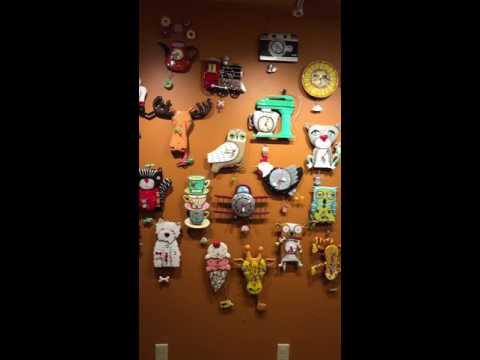 Our amazing Allen Designs Clock Wall
