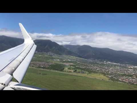 American Airlines A321 | Approach and Landing in Kahului/Maui (OGG)