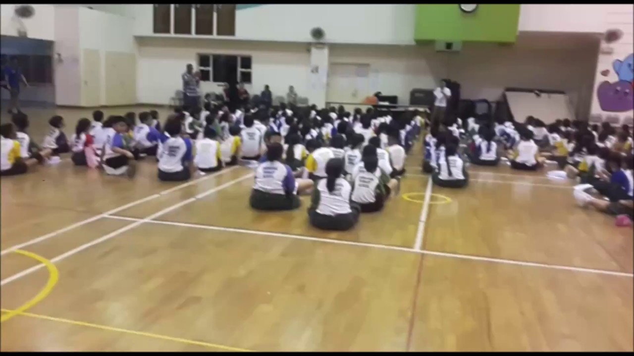 Leadership Training - Student Leaders - Zhenghua Primary - Video 1