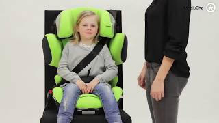 Car seat Kiddy Cruiserfix 3 Stone Silver Grey Melange KIDDY