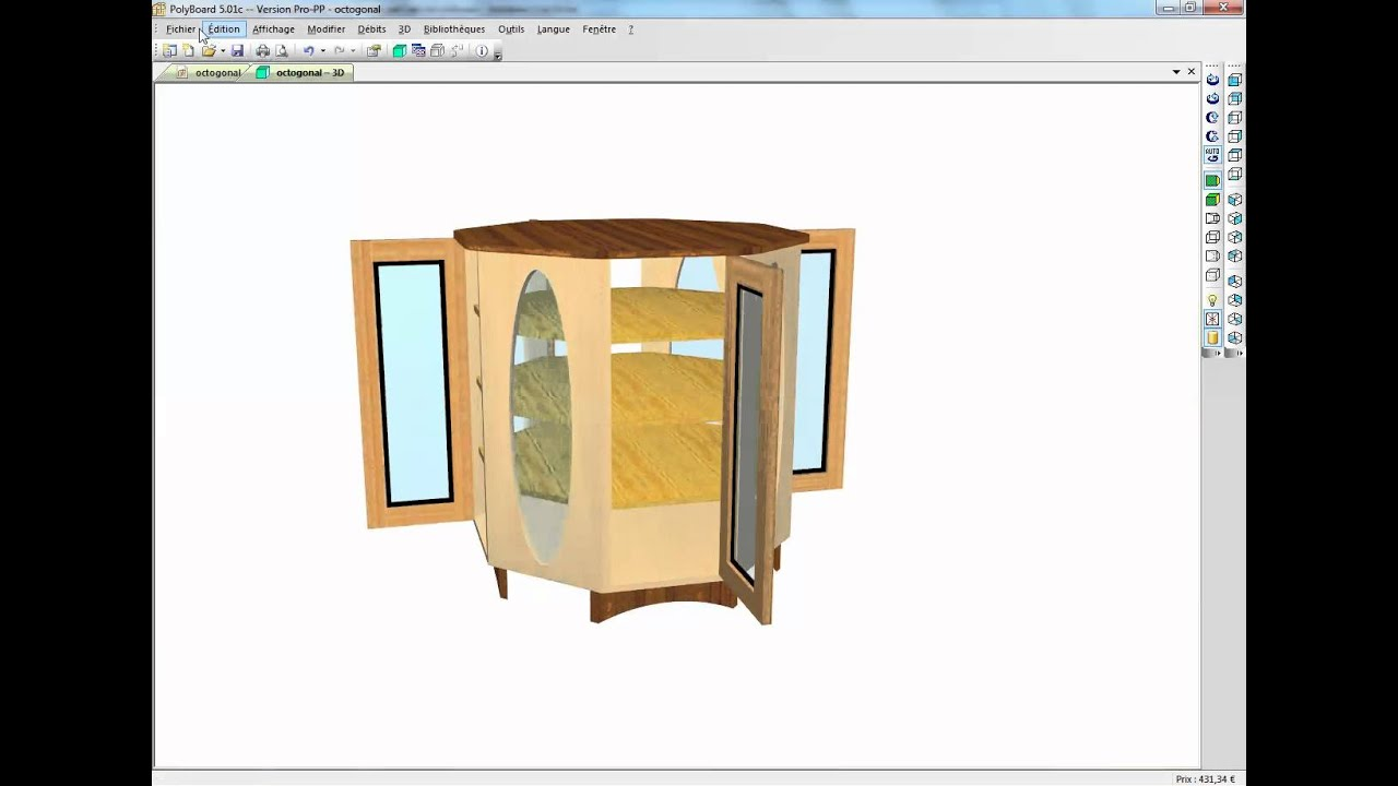 Kitchen Cabinet Design Software Linux Making Curved Cabinets With Polyboard