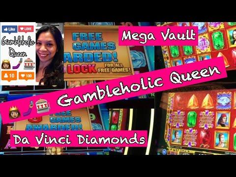 👩🏽🤳🏽🎰 MEGA VAULT & MEGa DE VINCI DIAMONDS BONUS