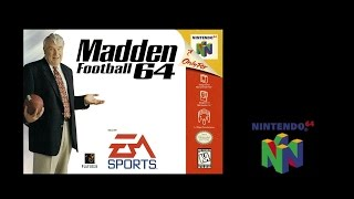 Madden Football 64 (Nintendo 64) Vikings vs Chiefs (Gameplay) The N64 Files