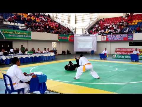 Kejuaraan Pencak Silat Porprov Bali XII. Guntingan