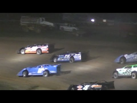 ULMS Super Late Model B-Main Two | McKean County Raceway | Fall Classic | 10.11.14