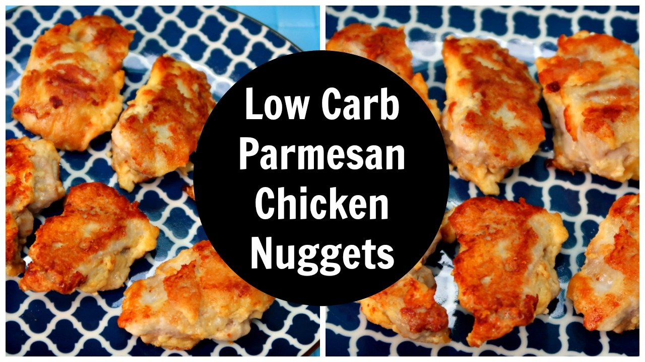 Parmesan Chicken Nuggets Low Carb Keto Diet Recipe Youtube