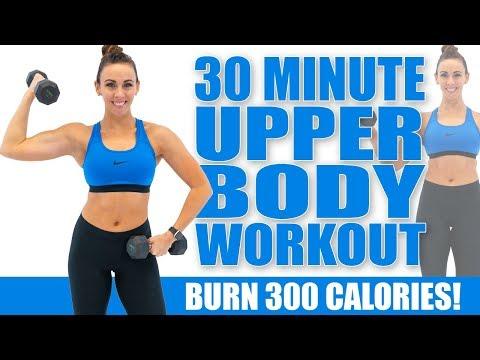 30-minute-upper-body-workout!-🔥burn-300-calories!🔥sydney-cummings