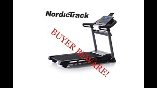 NordicTrack Treadmill Review - MAJOR DESIGN FLAW and MISLEADING Return Policy! BUYER BEWARE!