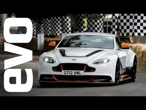 Aston Martin Vantage GT12 Goodwood onboard | evo DIARIES