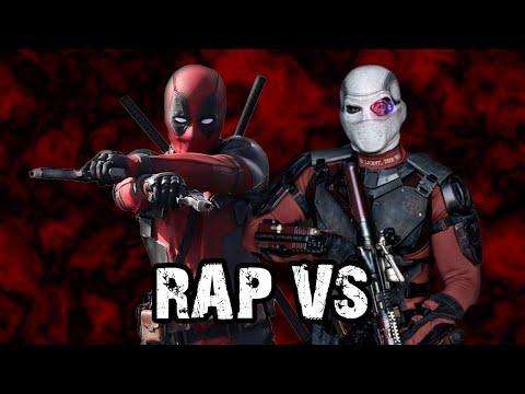 RAP De DEADPOOL Vs DEADSHOT [2020] | RAP VS 👊 | Marvel Comics • DC Comics | HLBeast