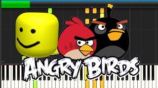 Angry Birds Mais c'est Roblox Death Sound!!!