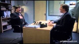 Job Interview in the UK - You passed-failed the test (very funny!)