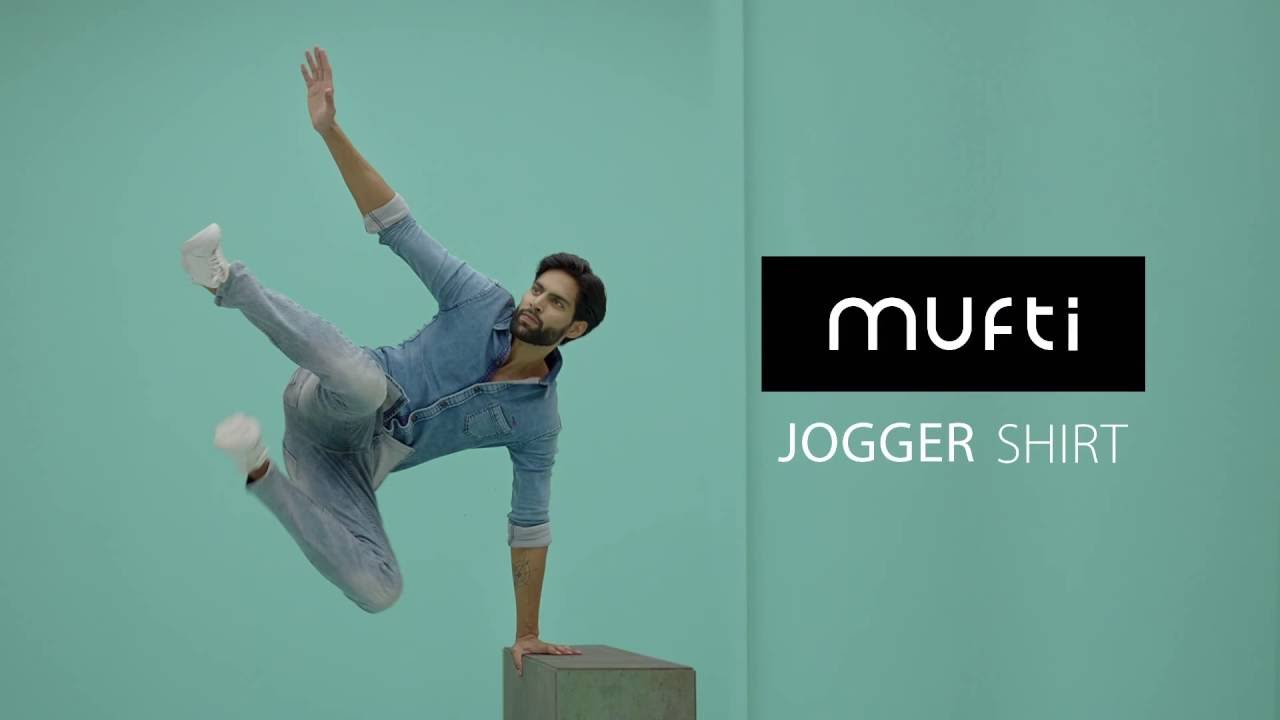 Mufti Jeans Presents The Jogger Shirt - YouTube