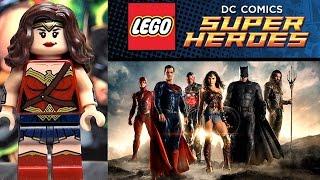 Лига Cправедливости LEGO DC Comics Super Heroes наборы 2017