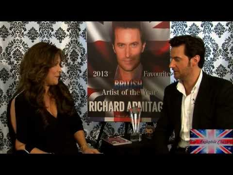 Richard Armitage INTERVIEW! Part ONE: The Hobbit and More! with Marlise Boland