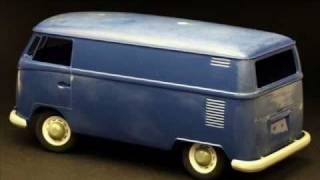 Hasagawa 1-24 scale 1967 Volkswagen type 2 Delivery Van part 1
