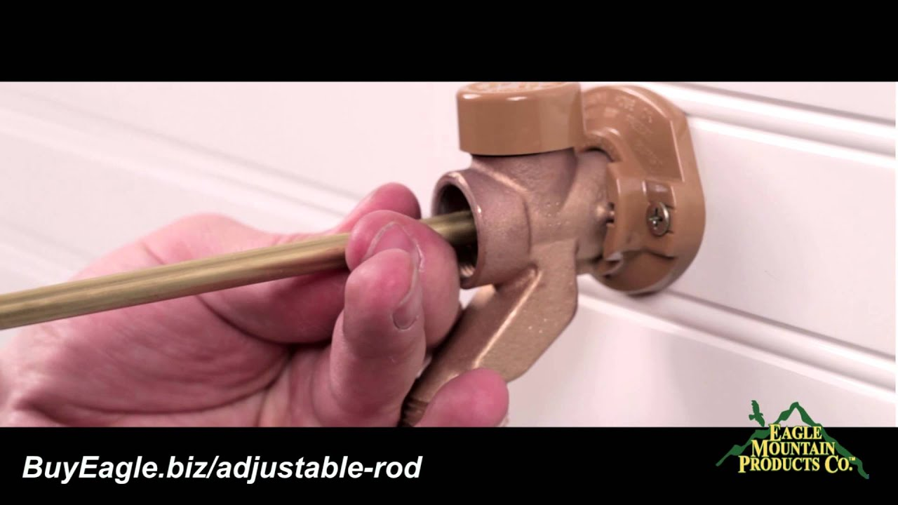 Frost Free Faucet Repair - YouTube