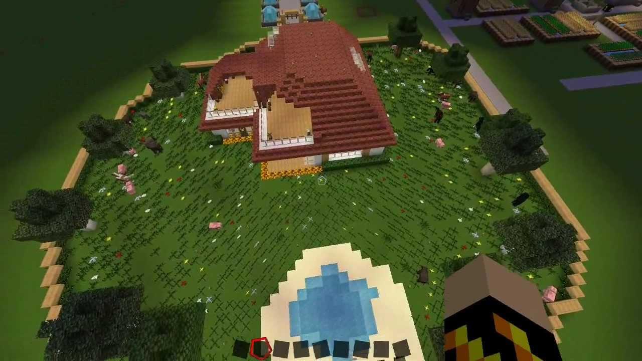 Helles Haus Minecraft Bau Ideen WolfGaming DeutschHD YouTube - Minecraft haus ideen deutsch