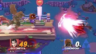 Dominating 0-Deaths in Smash 4 #4