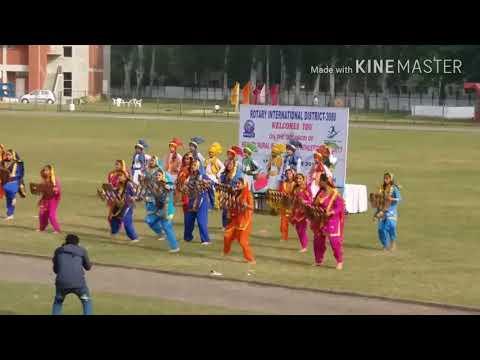 New public school chandigarh bhangra