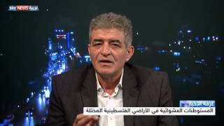 المستوطنات العشوائية في الأراضي الفلسطينية المحتلة