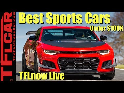 What Are A Pro Racing Driver's Top 10 Sports Cars Under $100K? TFLnow Live Show #13