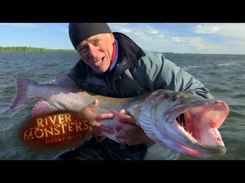 Catching The Muskie - River Monsters