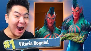 I BOUGHT THE NEW LEGENDARY SKIN OF THE VILLAIN PAPA FLIES!! -Fortnite Battle Royale
