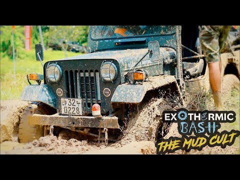 Exothermic Bash - The Mud Cult 2017 | 4x4 Challenge | Sri Lanka