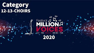 19/2/2020 Age category 12-13, Choirs - Music competition festival Million Voices - 5