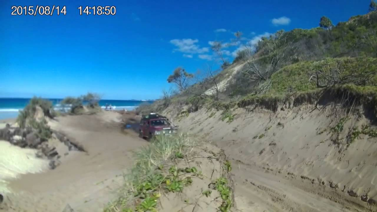 Download Fraser Island 2015 ngkala rocks bypass bogged prado my gq patrol ripping it out