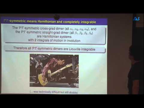 Igor V. Barashenkov -Nonlinear Schrodinger dimer with gain and loss:amiltonian structure