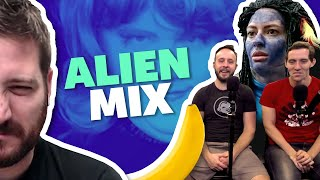 Rooster Teeth Remix - SPACEMAN CAN (ALIEN MIX) 👽👾 - ft. James Willems & Bruce Greene from Funhaus