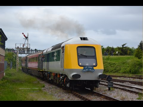 #498: Great Central Railway Nottingham - Prototype HST First Run Weekend (25/05/15)