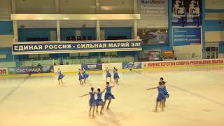 Чемпионат России по синхронному катанию  1 спортивный разряд  ПП 9 Ариада ВЛЖ
