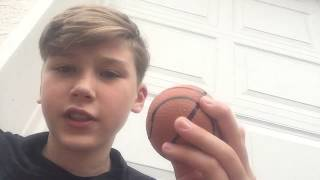 What's inside a basketball stress ball??( got it stuck to my teeth )