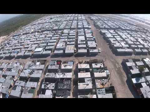 South African Townships By Drone - Ep 01 - Blikkiesdorp - Cape Town.