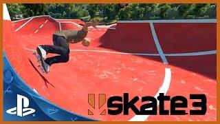 Jogando SKATE 3 no Playstation 3 [PS3 PT BR]