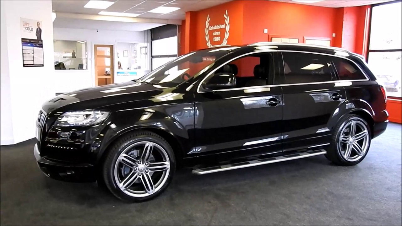 2014 AUDI Q7 3.0 TDI QUATTRO S LINE PLUS - YouTube