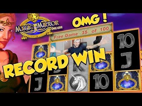 RECORD WIN!! - Magic Mirror Delux 2 by Merkur - MAXIMUM RETRIGGER??