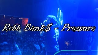 Robb Bank$ Performs Pressure Live *Dallas TX* shot by @Jmoney1041