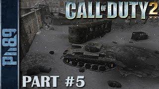 Call of Duty 2 Gameplay Walkthrough Part #5 Mission 5: Downtown Assault (HD)