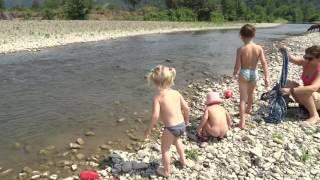 как мы отдохнули в самтредия.река Окопа Самтредиа