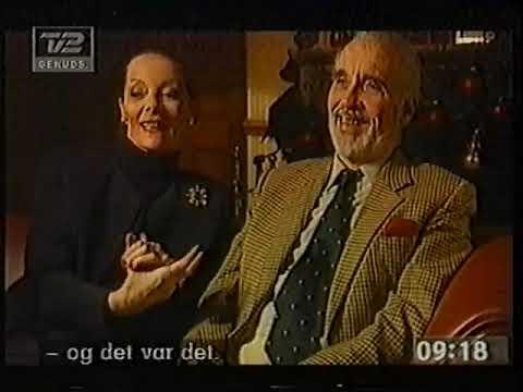 Gitte & Christopher Lee