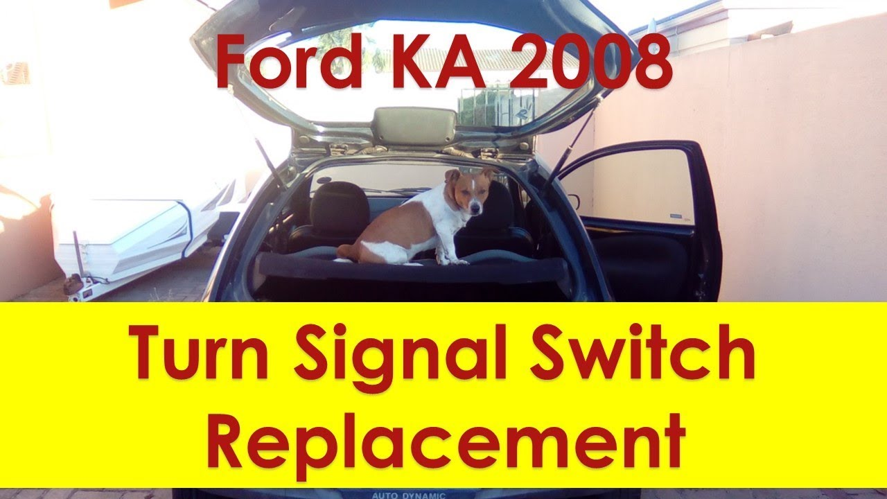 Ford Ka Turn Signal Switch Replacement Youtube