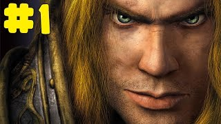 Warcraft 3: Reign of Chaos - Human Campaign - Walkthrough - Part 1 - The Defense of Strahnbrad (HD)